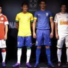 Apresentação da camisa do Capão F.C. em evento realizado em 2012.